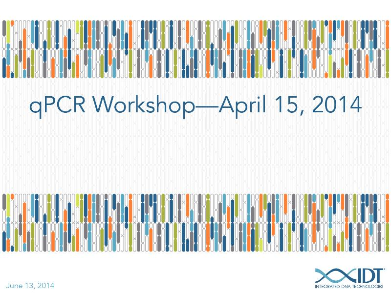 qPCRworkshopApril152014