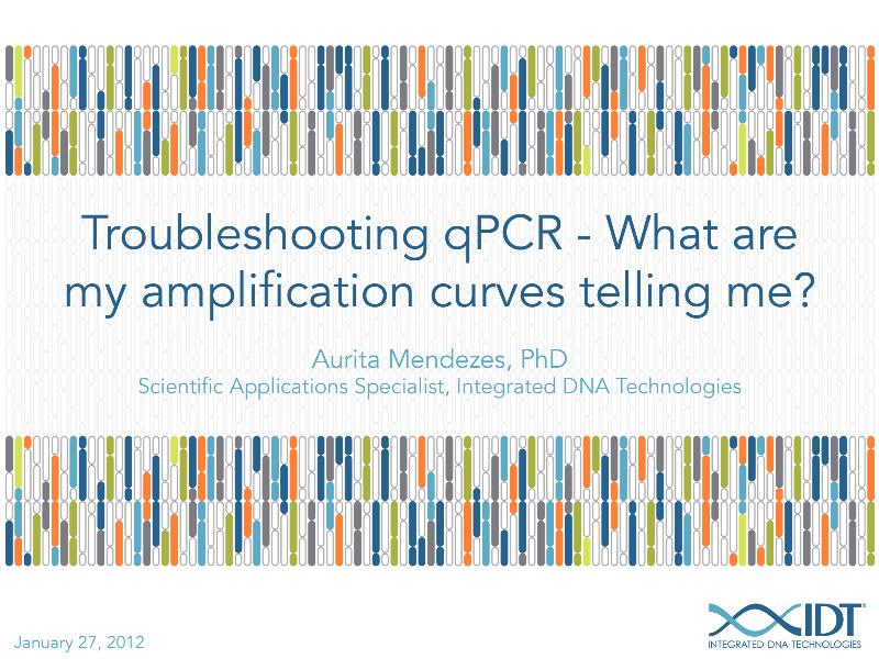 TroubleshootingqPCR